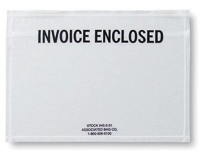7 X 5 Back Loading Printed Ng List Envelope